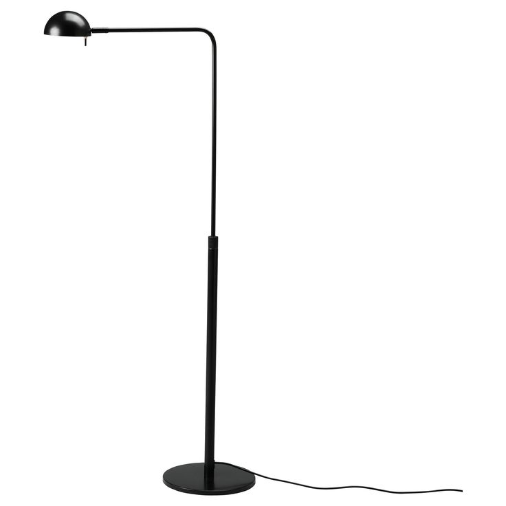 ikea 365 brasa floor reading lamp black. Black Bedroom Furniture Sets. Home Design Ideas