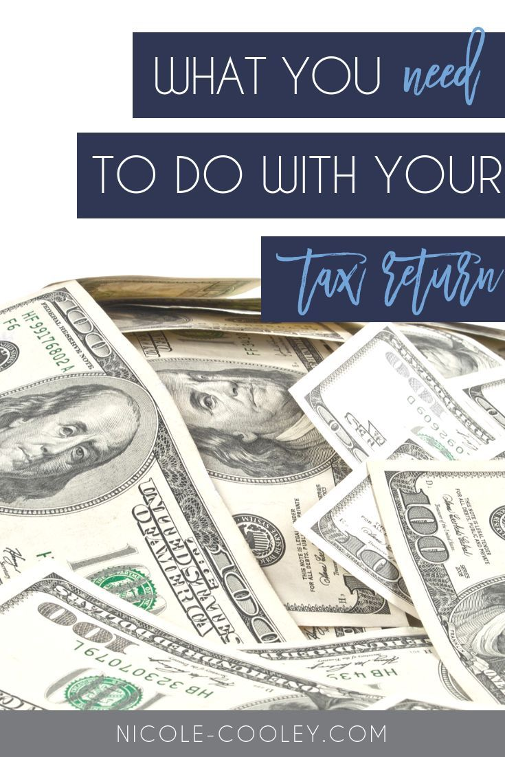 What To Do With Your Bonus Or Tax Return | Tax return ...