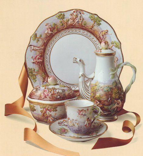 Richard Ginori ceramics (Firenze, Italy)