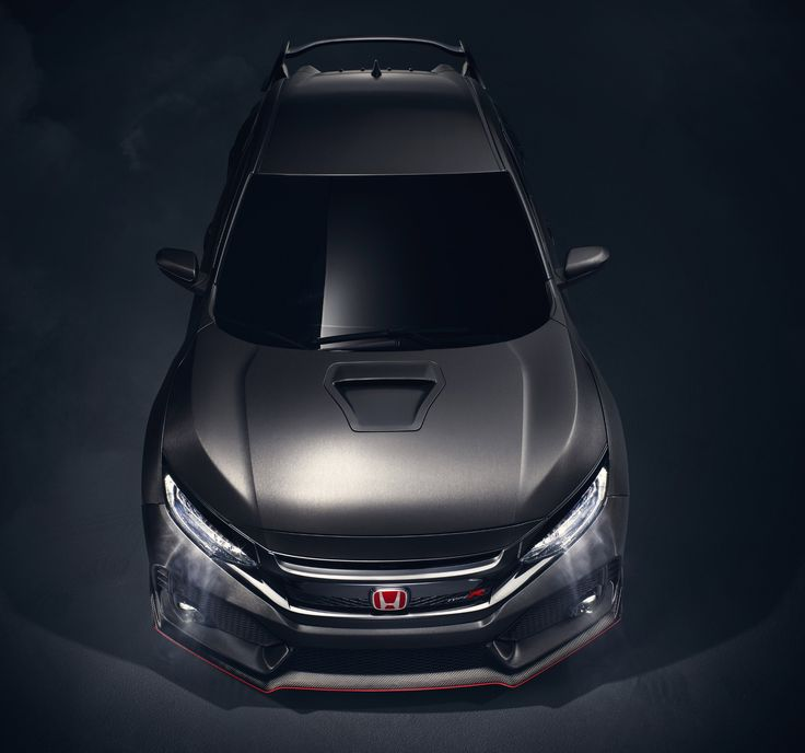 Delightful 2017 Honda Civic Type R: Pre Production Prototype/show Car