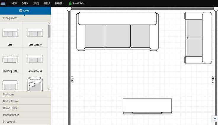 Plan Your Room es una utilidad web gratuita para crear fácilmente nuestros propios planos de habitaciones para diseño de interiores.