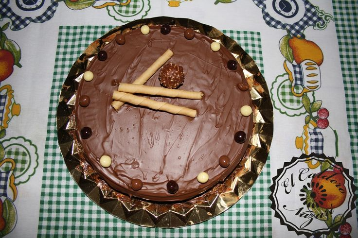 ElCalderoNazari: Postres. Tarta de chocolate con obleas