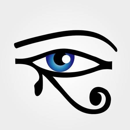 Eye Of Horus Text Symbol