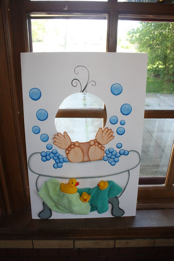 Baby cut-out board