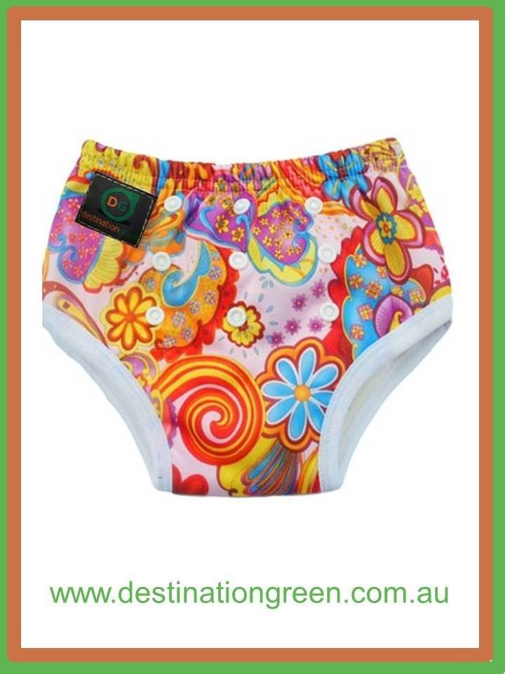 Reusable Training Pants - pink paisley, $11.95