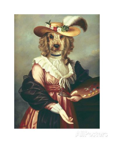 Madame Vigee Lebrun Premium Giclee Print by Thierry Poncelet at AllPosters.com