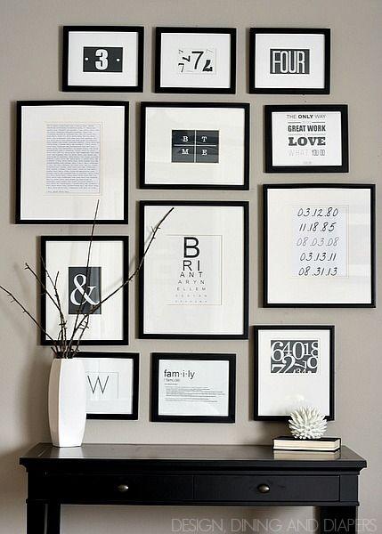 Quadros em Preto e Branco na Decoração - Ideias para Inspirar