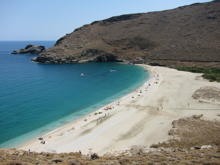 #Achla, #Andros, #Cyclades, #Greece This #beach was beautiful.  The drive is to get there is breathtaking!   :)
