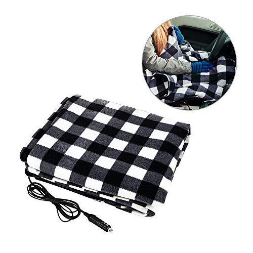 """Car Blanket,Sundlight 12V Electric Car Heated Blanket Warmer for Car Truck,59.06""""x43.31"""". For product info go to:  https://www.caraccessoriesonlinemarket.com/car-blanketsundlight-12v-electric-car-heated-blanket-warmer-for-car-truck59-06x43-31/"""