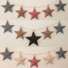 100均折り紙で作る!立体的な星「バーンスター」を部屋に飾ると超おしゃれ!の画像 | Jocee