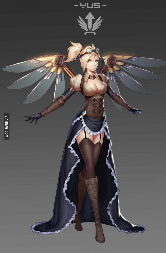 Would be cool skin for Mercy.