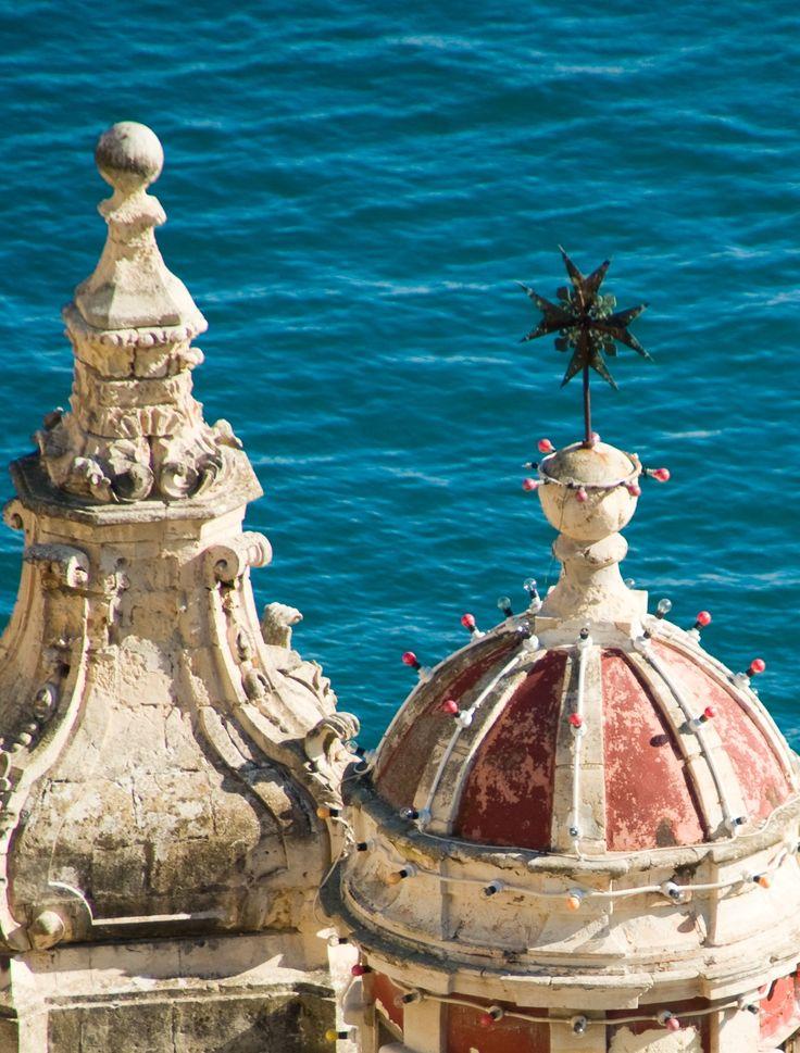 Malta - Church in Valletta -detail of the Maltese cross- one of my photos