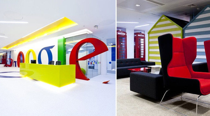 google office spaces. Google Offices - Image: Scott Brownrigg Office Spaces