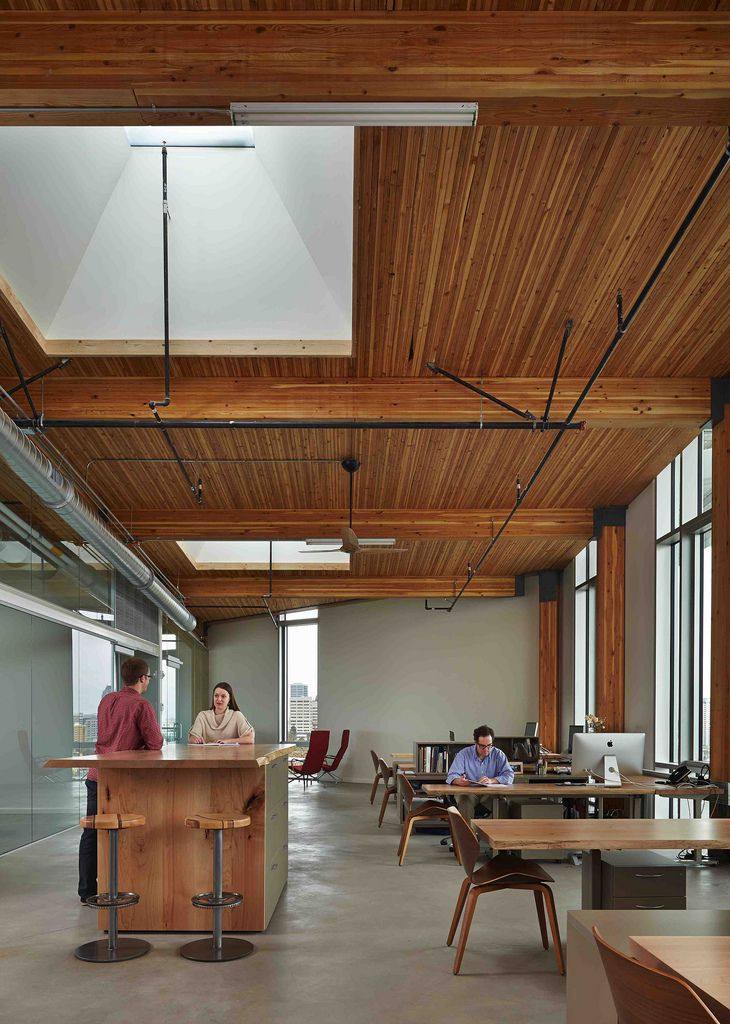 Bullitt Center | A commercial building is Seattle built to Living Building Challenge standards. We love this stuff!