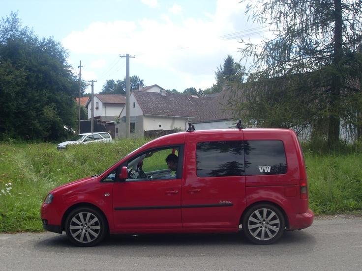 My Caddy in CZ summer 2012