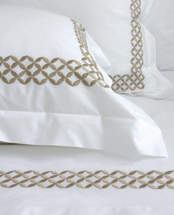 Au Lit Fine Linens — Anice Embroidery