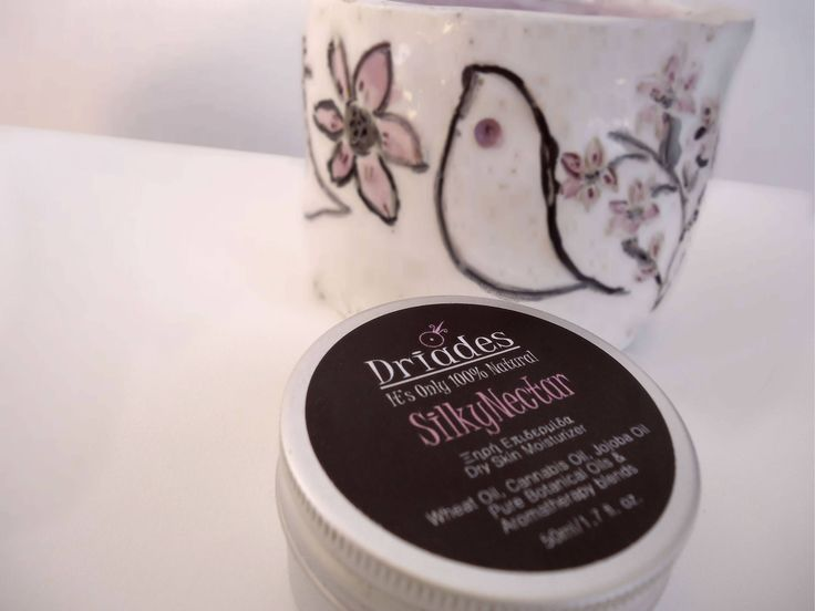 100% Natural Dry & Sensitive Skin Intensive Anti-aging Anti-wrinkle Moisturizer Face Cream by DriadesNatural on Etsy