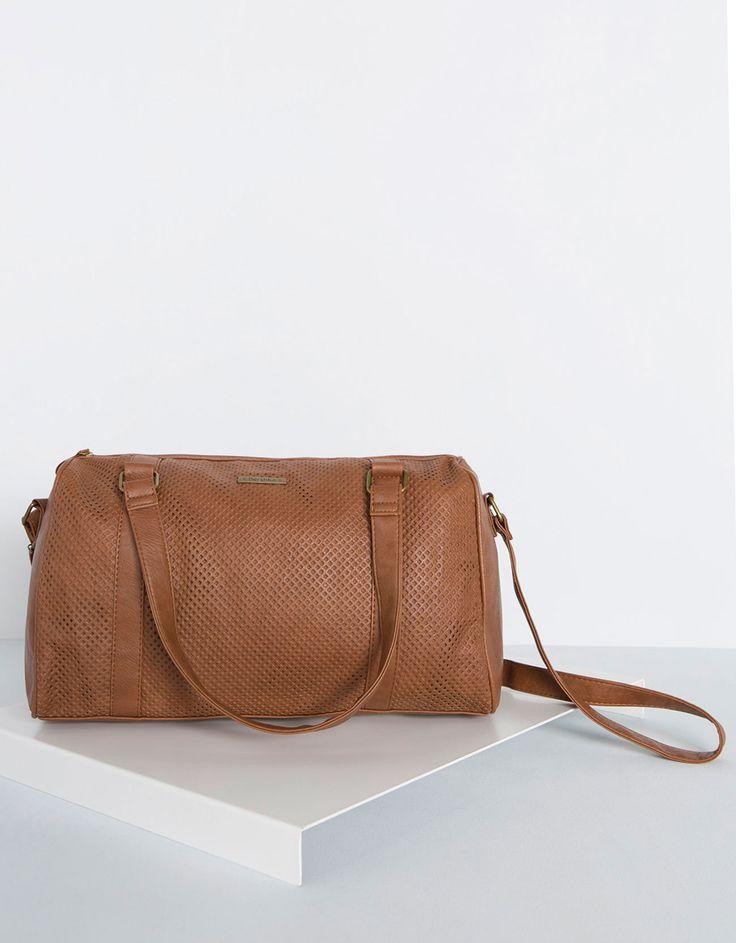 Bershka's - Perforated bowling bag Autumn/Winter '14