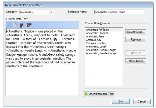 creating custom clinical note templates