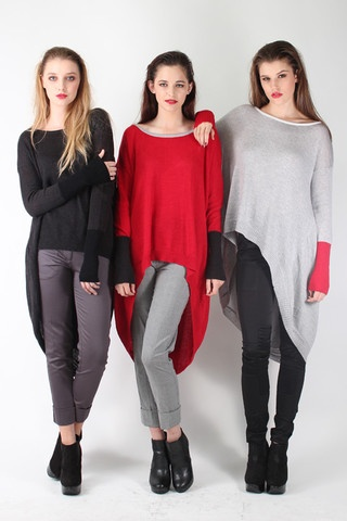 Taylor 'Follow the line' collection, Winter 2013 www.taylorboutique.co.nz Perimeter Sweater