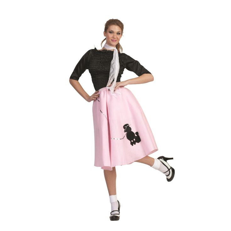 How To Make A Poodle Skirt That Became Trend In The 50s Pink