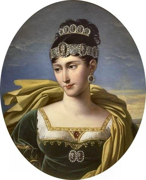 Pauline Bonaparte, sister of Napoleon, considered one of the most beautiful women in Europe. Married twice, first to aFrencharmy general, then anItalianprince, with many affairs in between. She was also the only Bonaparte sister to visit Napoleon on Elba.