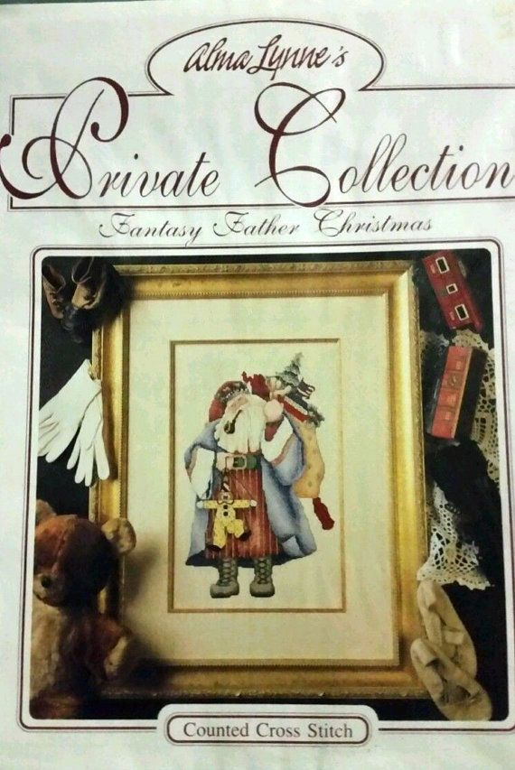 Counted Cross Stitch Pattern Fantasy Father by ToppyToppyKnits
