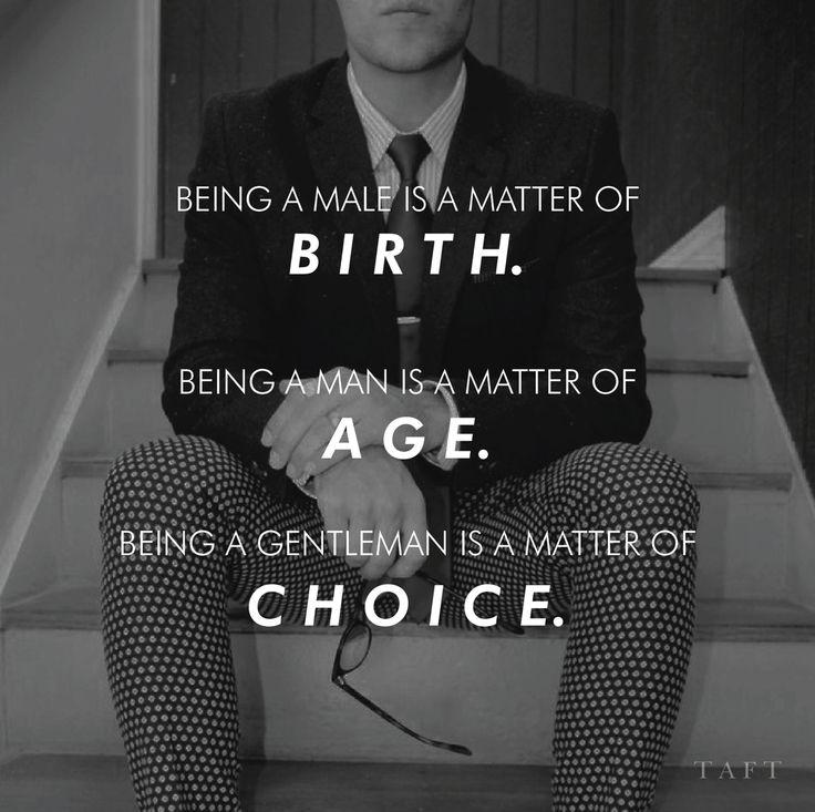 Be a Gentleman by Taft