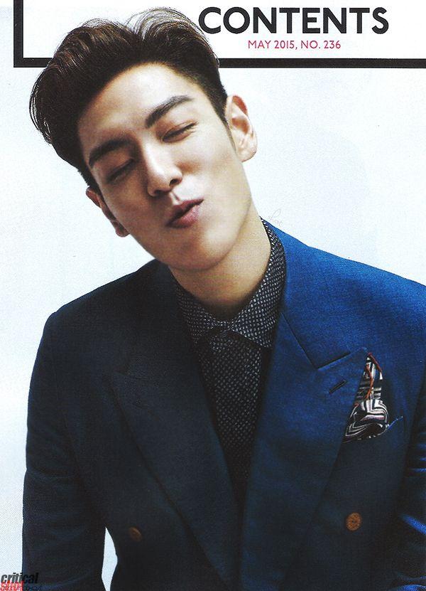 TOP | Esquire Korea (May 2015)