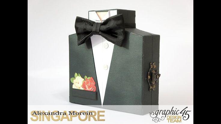 1d2 Caixa Vestit Home Cartonatge Boda Esdeveniment | AlexandraM