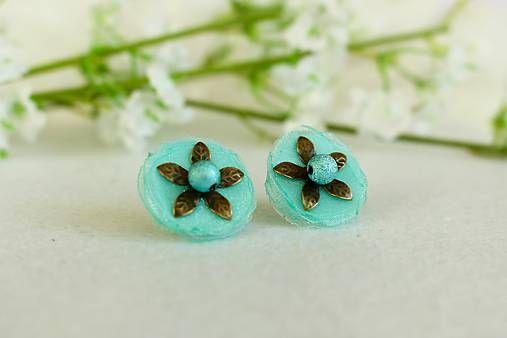 Organza earrings