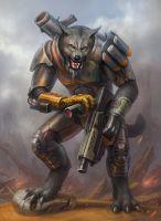 Werewolf by LeonovichDmitriy