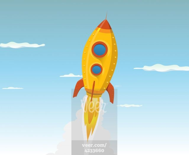 15 Best Images About Clip Art...My Style-Rocket Ships