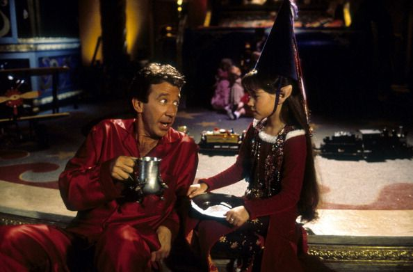 tim allen and paige tamada in the santa clause tim