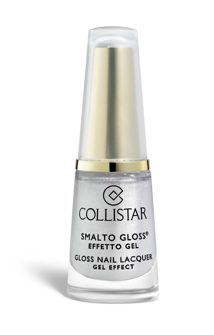 Smalto Gloss Effetto Gel n.503 Bianco Diamante #collistar #beauty #natale #christmas #makeup #nailart #unghie #smalto #nails #gloss #gel #rosso #bianco #white #diamante #diamond