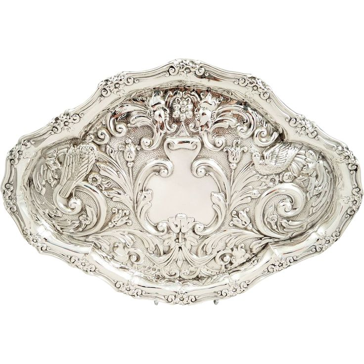 Antique Sterling Silver Dressing Table Tray, 1908 - 59 Best Antique Silver Vanity Trays Images On Pinterest Vanities