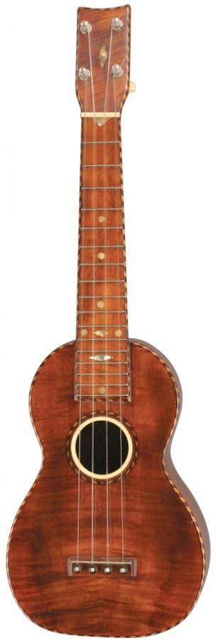 [Uke of the day 2016] Weissenborn pined bridge Concert Ukulele --- https://www.pinterest.com/lardyfatboy/