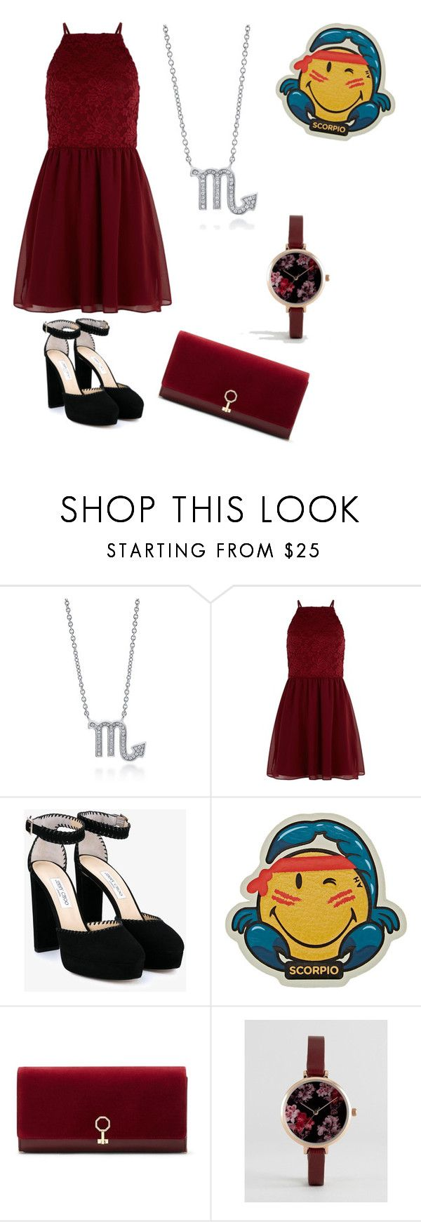 """""""Scorpio 🦂"""" by puplove905 on Polyvore featuring BERRICLE, New Look, Jimmy Choo, Anya Hindmarch, Louise et Cie and ASOS"""