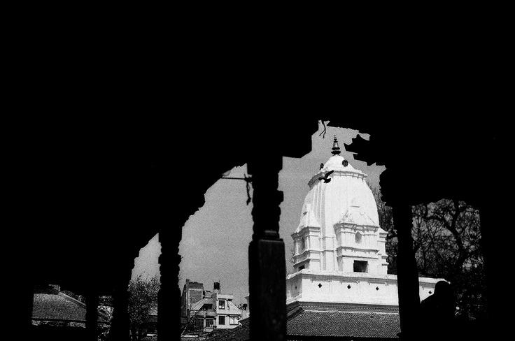 Kathmandu Durbar Square - Shot with Asahi Pentax 1976 on ILFORD PAN 100