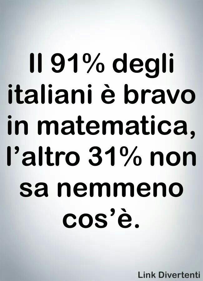 Anche in italiano...