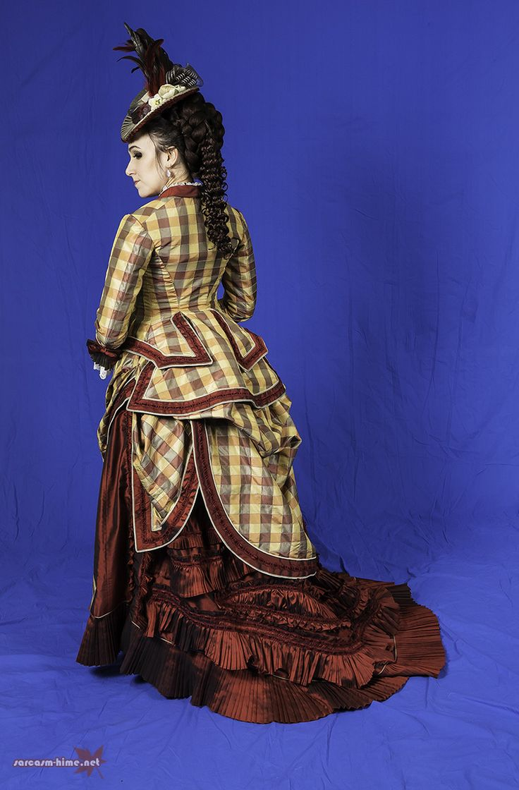 303 best Gowns inspired by TrulyVictorian Patterns images ... Victorian Bustle Gowns