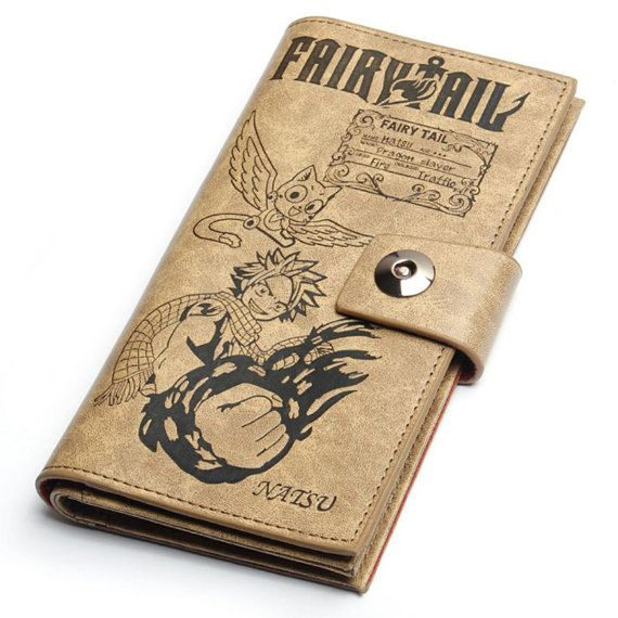 I WANT THIS TOO!!! Japanese Anime Fairy Tail Accessories Long Wallet/Purse