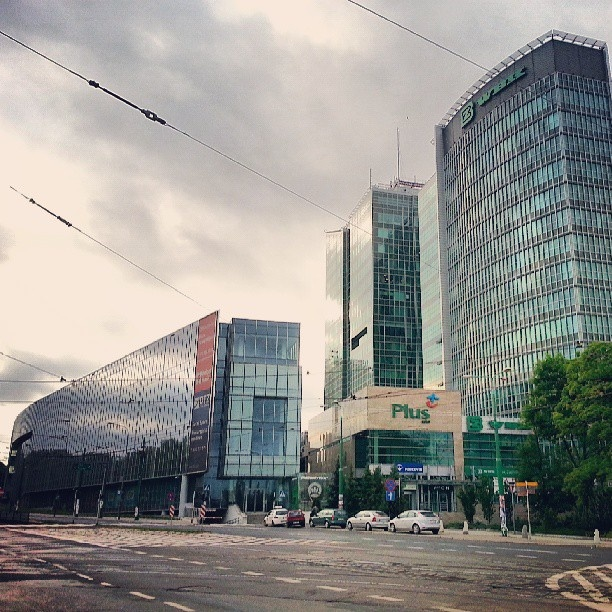 Found on Starpin. #architecture #modern #abc #andersia #green #ibb #city #centre #poznan #Poznań