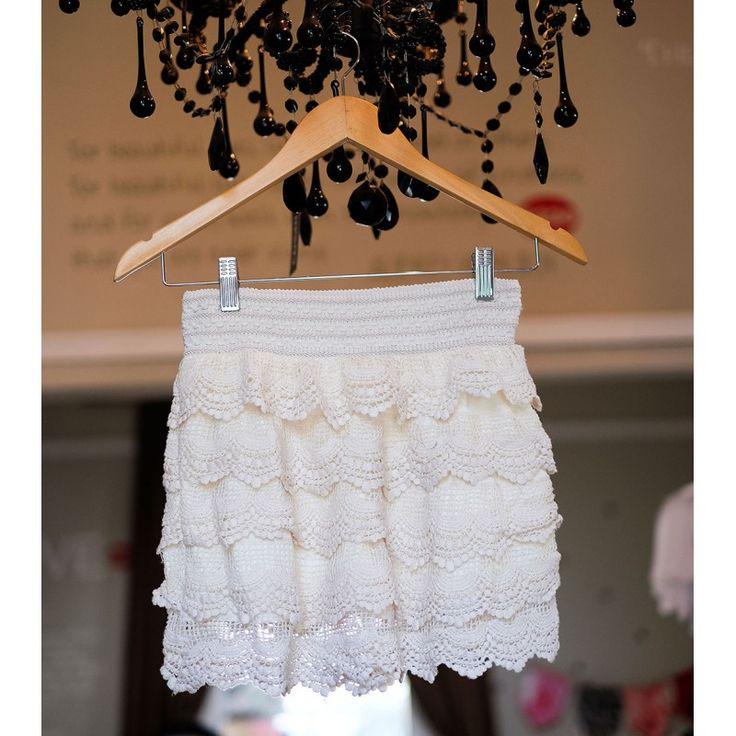 Crochet Shorts | Cream