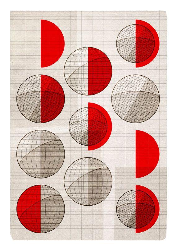 Geometric print.