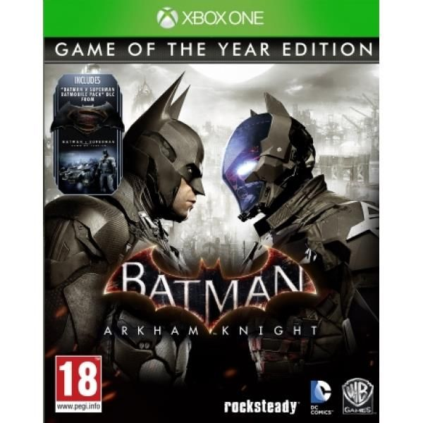 Batman Arkham Knight Game Of The Year (GOTY) Xbox One Game | http://gamesactions.com shares #new #latest #videogames #games for #pc #psp #ps3 #wii #xbox #nintendo #3ds