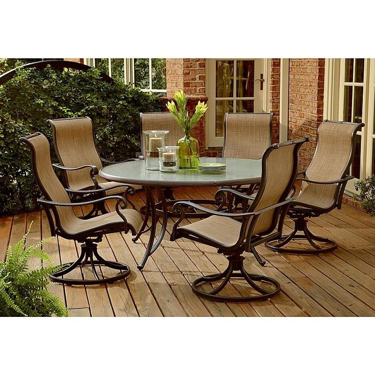 sears outdoor dining table. panorama 7 piece patio dining set: improve your life and patio\u2013sears sears outdoor table o