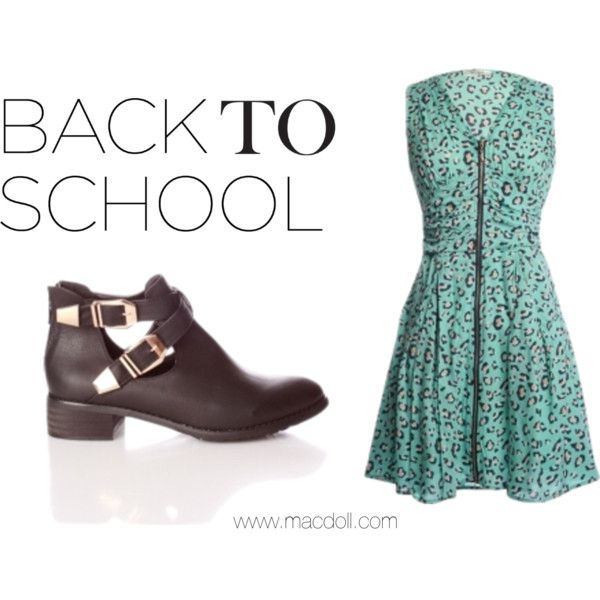 Back to School fashion at macdoll.com ♥ #fashion #fbloggersuk #fbloggers #dress #love #shoes