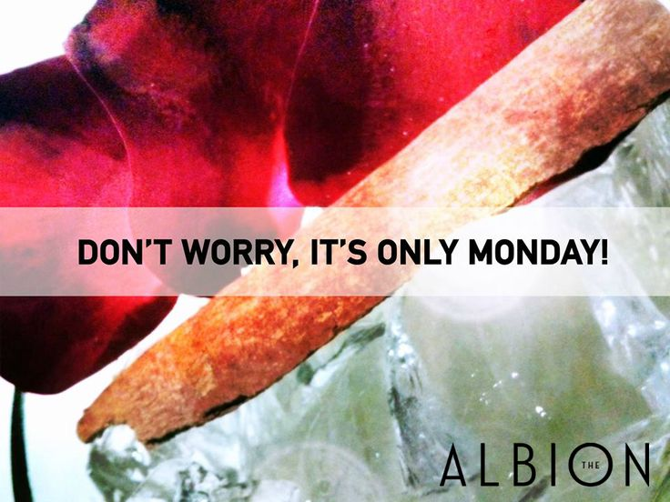The Albion's Siberian Rose #cocktail #quotes #Monday