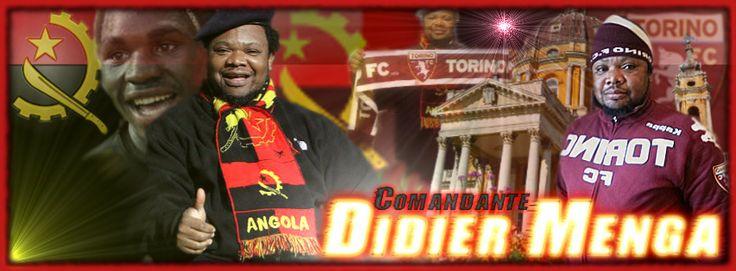 Welcome Banner Comandante Didier Menga